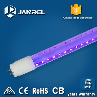 Tubo de luz ultravioleta UV LED T8